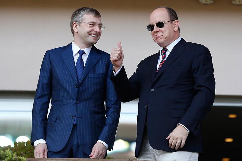 Дмитрий Рыболовлев и принц Монако Альберт