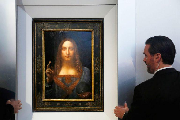 Продажа картины «Спаситель мира» заморожена