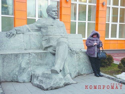 Совхозные труженики приходят к Владимиру Ленину пожаловаться на несправедливость