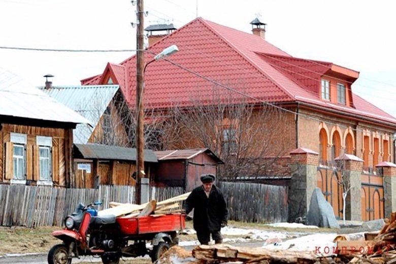 Коттедж Якова Силина в Верхнем Макарово