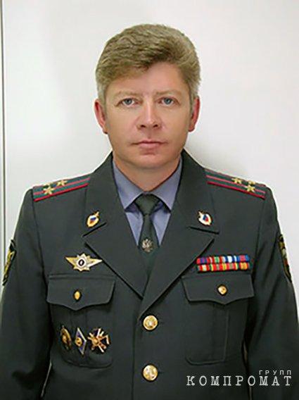 Начальник Красносельского УВД Санкт-Петербурга Дмитрий Бутылкин
