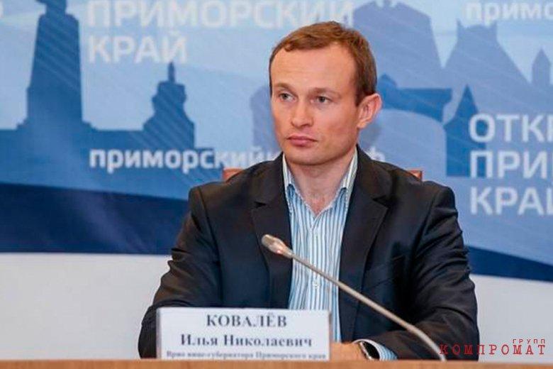 Бывший вице-губернатор Приморского края Илья Ковалев