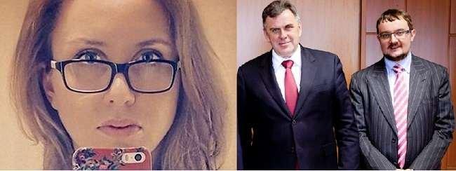 Алексей Репик с экс-губернатором Ярославской области Сергеем Ястребов. на фото справа - дочь губернатора Елена