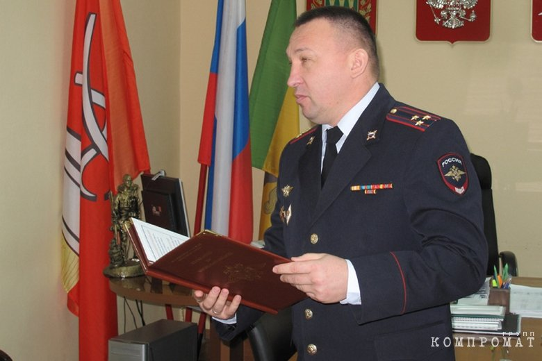 Полковник Нариман Алтынбаев