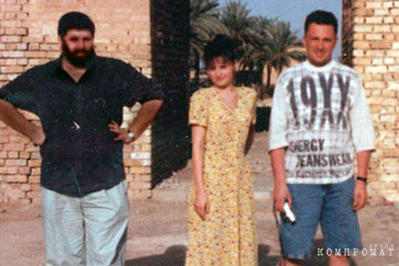Игорь Водопьянов в Ираке