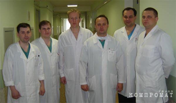 Коллектив центра нейрохирургии 3-го ЦВКГ им. А.А. Вишневского