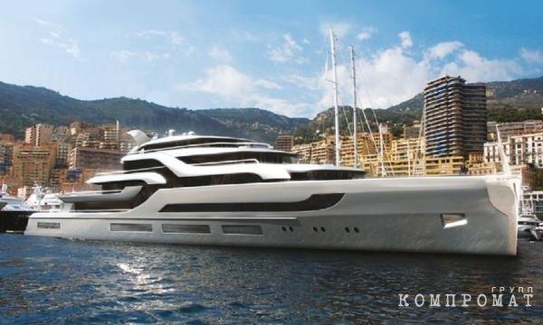 Так должна выглядеть яхта Пумпянского