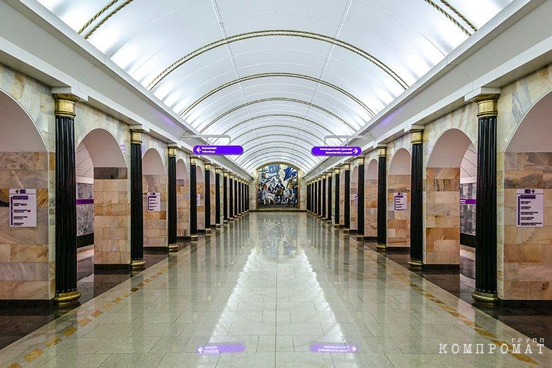 Станция метро «Адмиралтейская»
