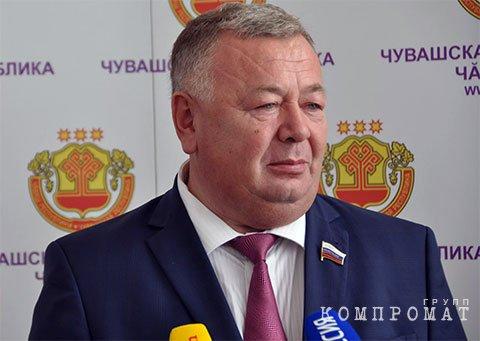 Член Совет Федерации от Чувашии Вадим Николаев