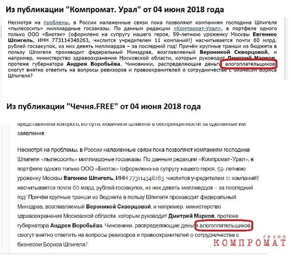 «Список Шпигеля». История информационной атаки