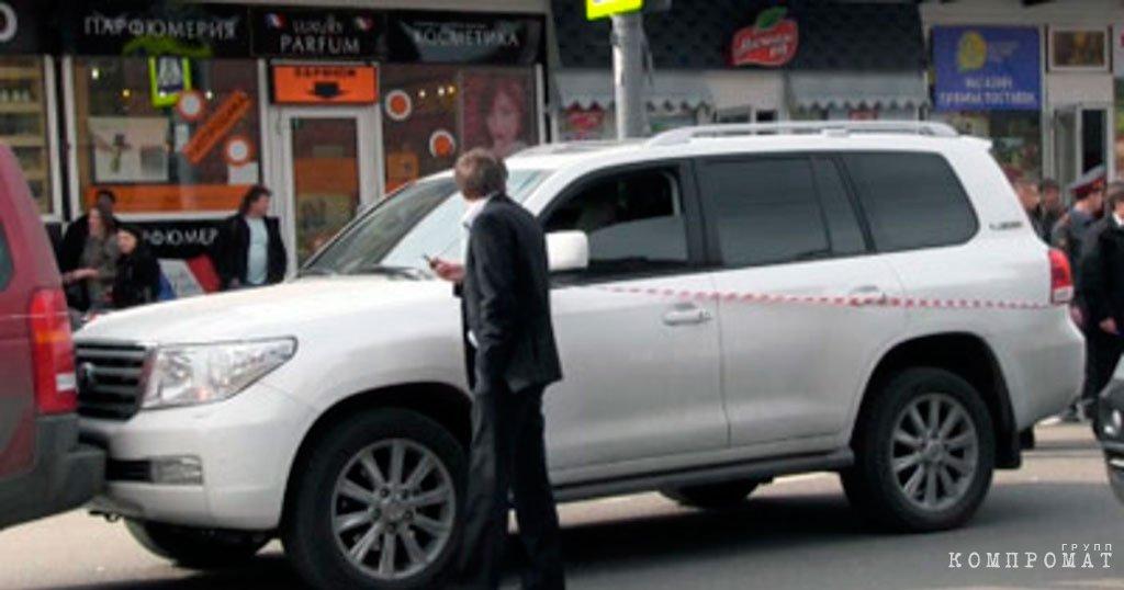 Авто в котором убили Данабаша