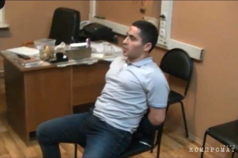 Руфо Гянджинский во время допроса