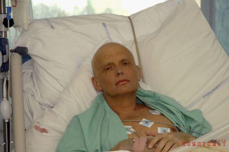 Александр Литвиненко незадолго до смерти