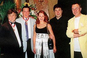 Алимжан Тохтахунов, Иосиф Кобзон, Марина Анисина, Анзори Аксентьев и Вячеслав Зайцев