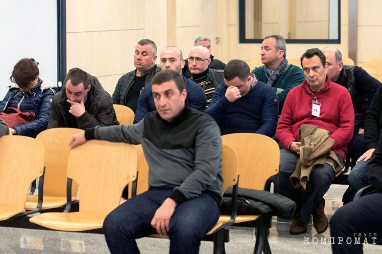 Каха Руставский на суде