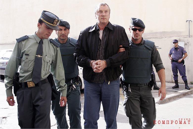Задержание в Испании Геннадия Петрова