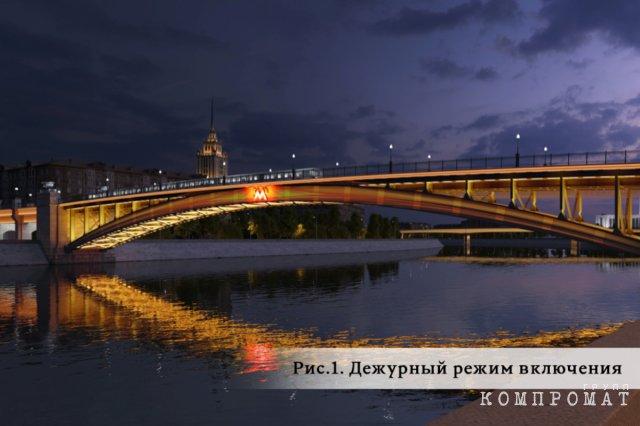 Фирма, связанная с чиновником из правительства Ярославской области, украсит Смоленский метромост к Новому году за 642 миллиона рублей