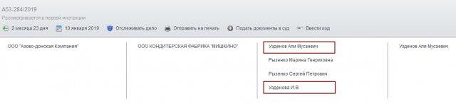 """Али Узденов готовится оспаривать финансовые претензии к ООО КФ """"Мишкино""""? Зачем ему это?"""