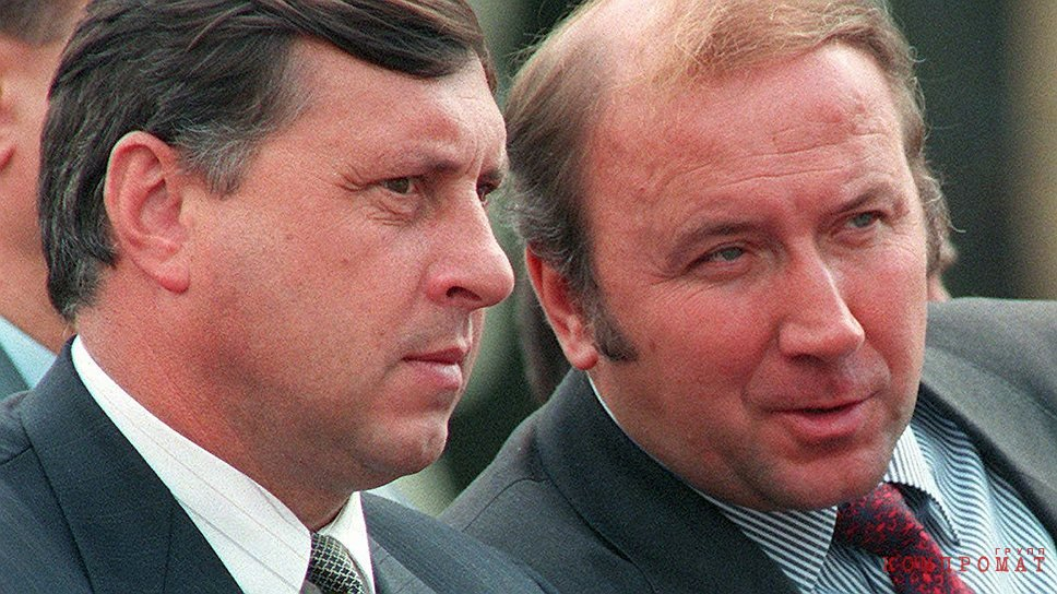 Михаил Барсуков и Александр Коржаков