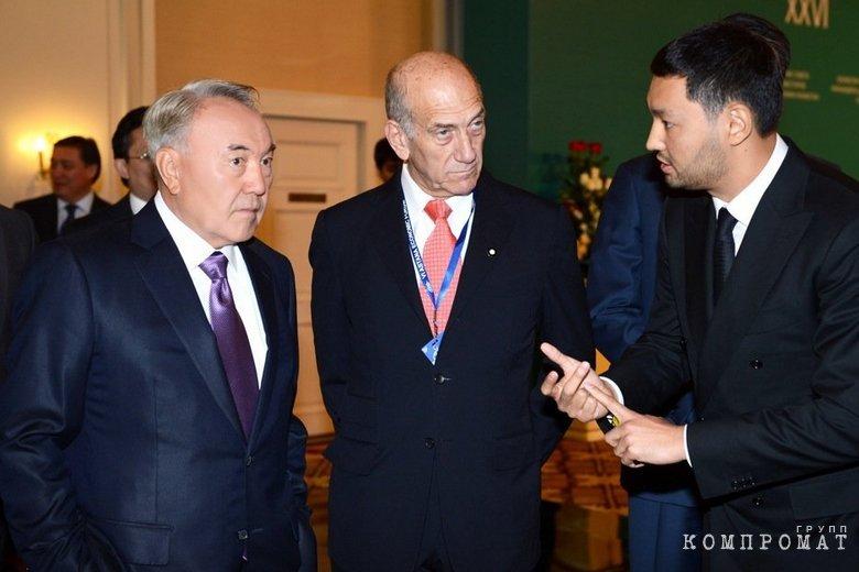 Назарбаев и Ракишев
