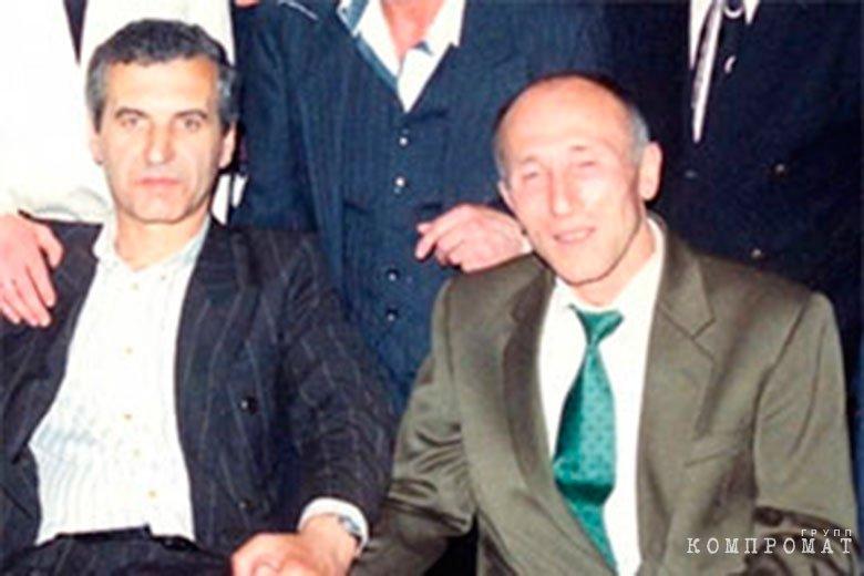 Валерий Шеремет (слева)
