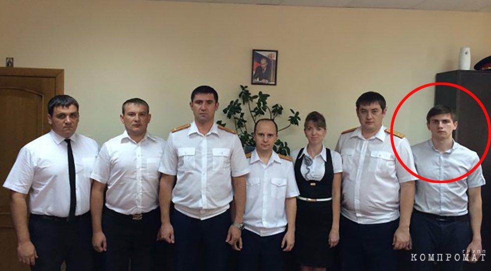 Крайний справа — следователь Сокрутенко А.А.