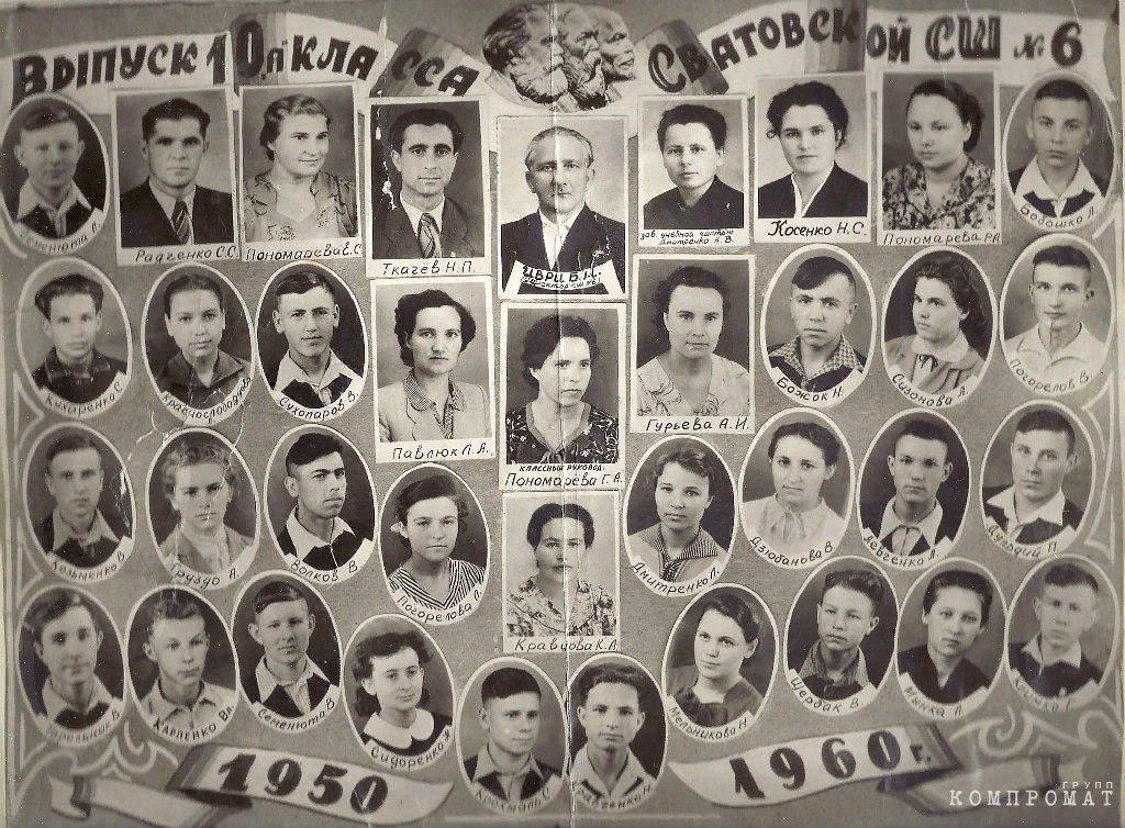 Школьный выпуск Виталия Тихонова
