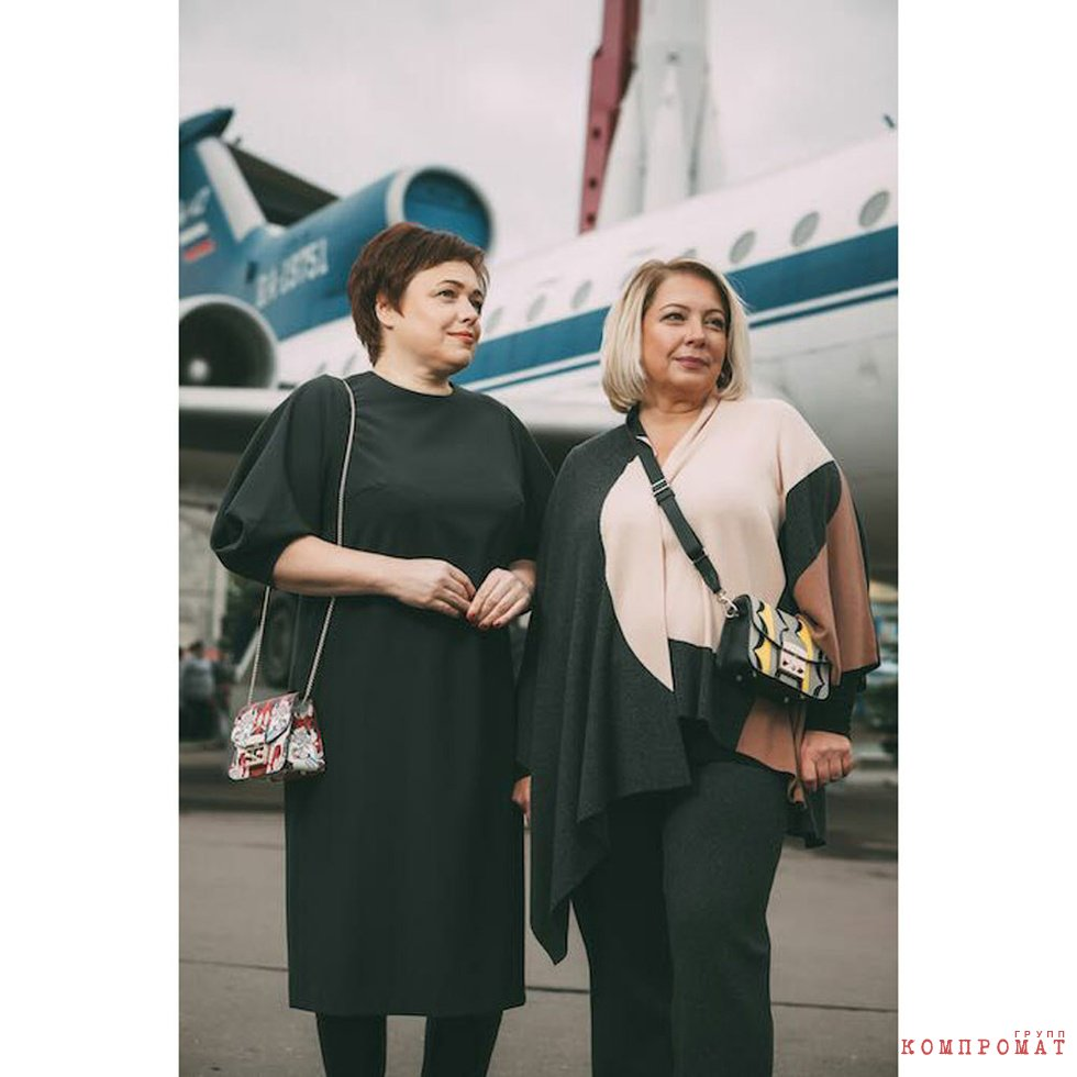 Евгения Магурина (слева) и Ирина Иерусалимская (справа)