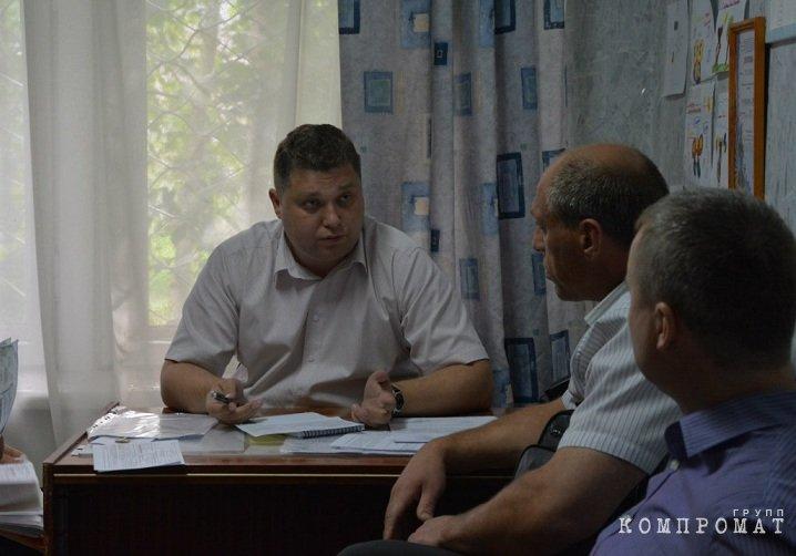 Депутат Копейского городского округа Александр Вершинин (налицо хроническое недоедание)