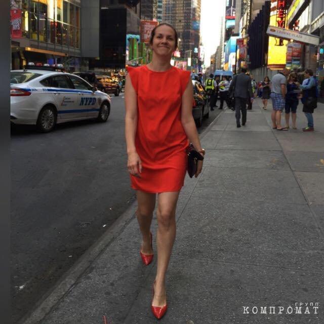 Елена Петрова в Нью-Йорке