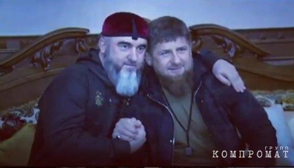 Рамзан Кадыров поздравляет Ибрагима Темирбаева с днем рождения