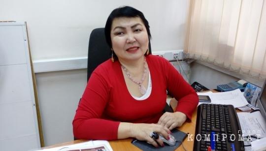 Дора Хамаганова