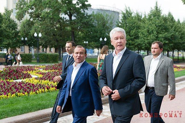 Петр Бирюков и Сергей Собянин