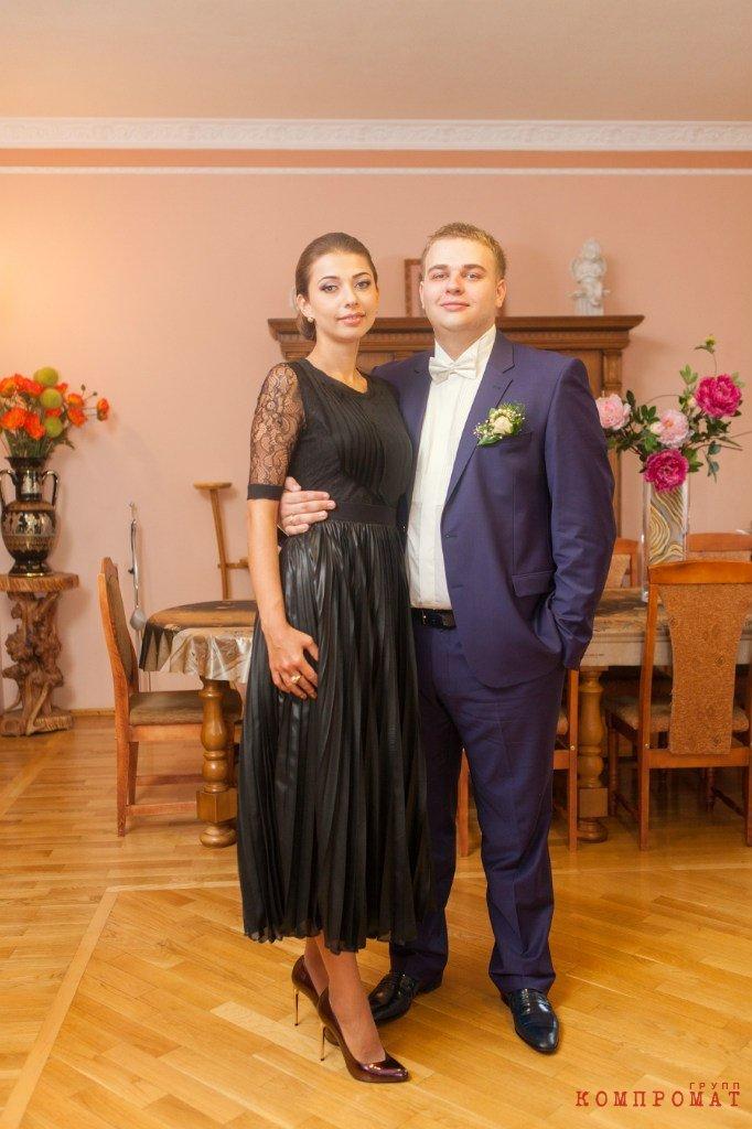 Андрей Арефьев вместе с сестрой Маргаритой Мячиной