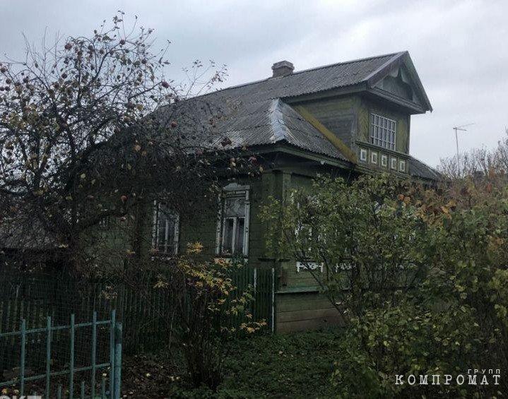 Дом, где жила мать президента Мария Шеломова