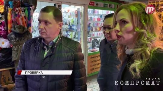 Игорь Шутенков проверяет подземный переход