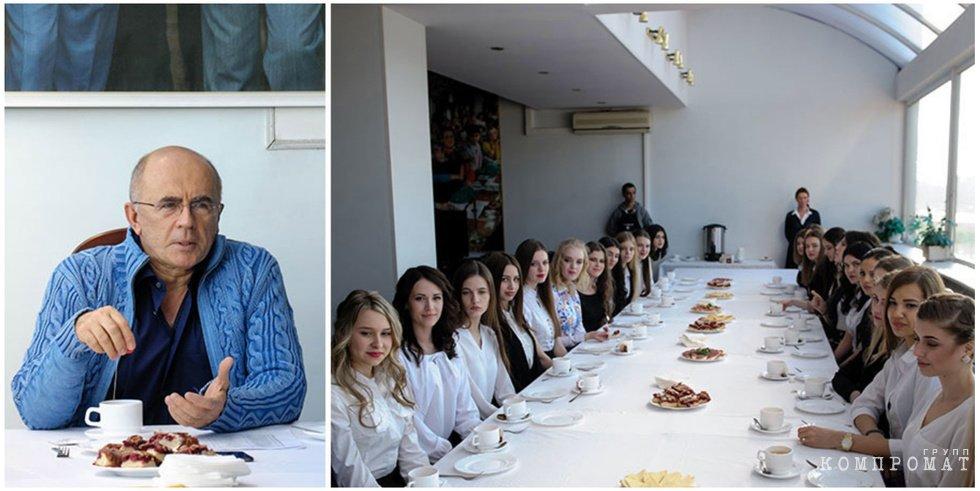 Запесоцкий и его студентки