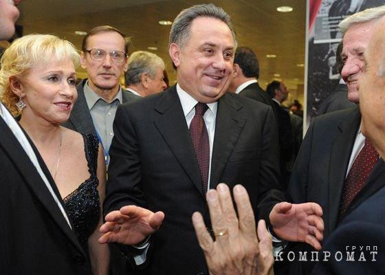 Виталий Мутко с женой