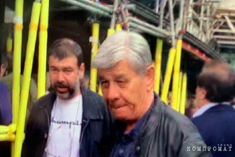 Борис Ушерович (слева)