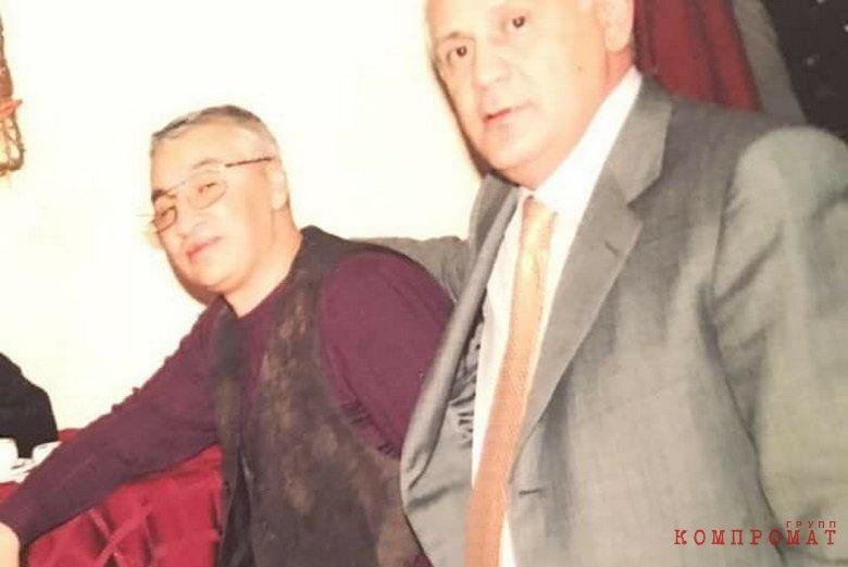 «Воры в законе» Хикмет Мухтаров и Чингиз Ахундов