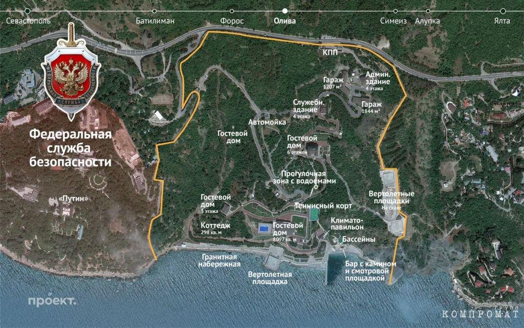 План территории воинской части