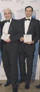 Йорген Фенек и Тураб Мусаев (справа)