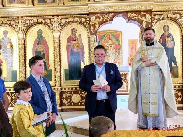 Михаил Боцко (в центре)