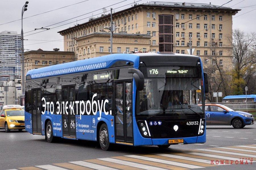 Глава дептранса Москвы Ликсутов признался в неэффективности электробусов