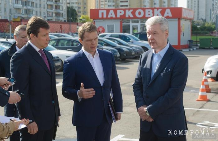 Максим Ликсутов и Сергей Собянин