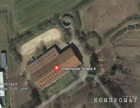 Так выглядят конюшни, расположенные по адресу регистрации компании Polina Prigozhina sporthorses Management GmbH