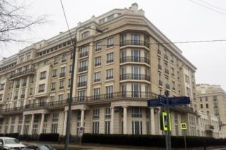 Элитный комплекс Knightsbridge Private Park на улице Ефремова в Москве