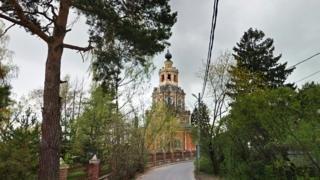 Спасский храм в селе Уборы