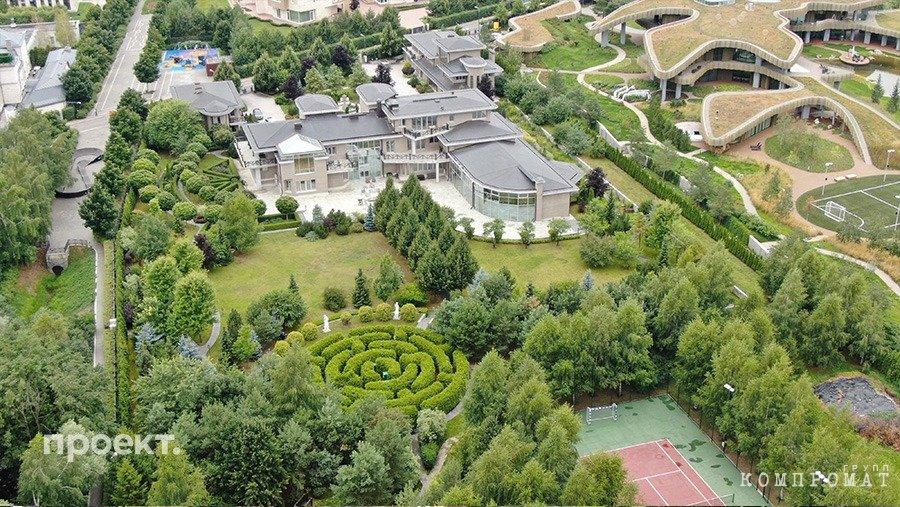 Выдающиеся дома Рублевки
