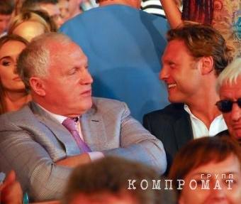Валерий (слева) и Александр Коганы